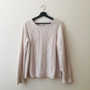 BB Dakota | Cream Cozy Crewneck Sweater